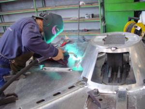 varjenje aluminija